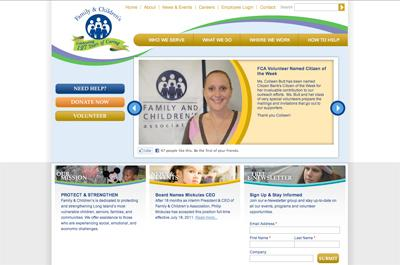 Family & Children's Website Case Study