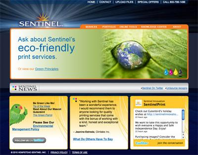 Sentinel Innovations Website Case Study